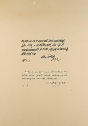 Zdzisław Czermański (1896-1970), Józef Piłsudski w 13 planszach, 1935 r.
