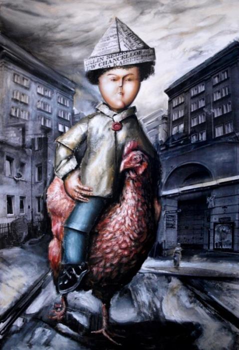 Polski Thomas, Konny portret młodego dżentelmena z Aleji Jana Pawła II