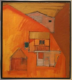 Iwona Stachura, Recykling szkicu.Pomarańczowy 2, 2015