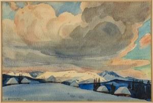 Władysław Skoczylas (1883 Wieliczka – 1934 Warszawa), Pejzaż zimowy
