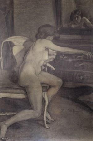 Zofia Atteslander (1874 Luborzyce – po 1928), Akt kobiecy, 1910 r.