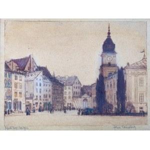 Feliks Jabłczyński (1865 - 1928 Warszawa), Plac Zamkowy