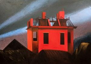 Jarosław Modzelewski (ur. 1955, Warszawa) - Niedokończony dom (duży), 1996
