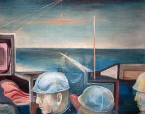 Ryszard Stryjec (1932 Lipniszki k. Lidy - 1997 Gdańsk) - Ludzie i morze, 1972