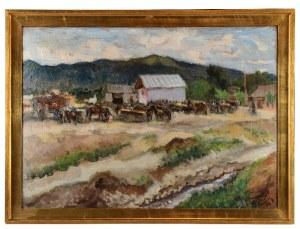 Fryderyk PAUTSCH (1877-1950), Targ, 1936