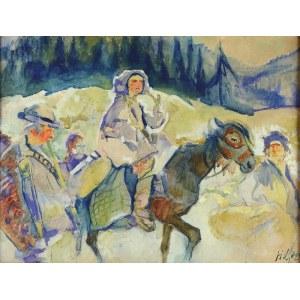 Kazimierz SICHULSKI (1879-1942), Huculi, 1922