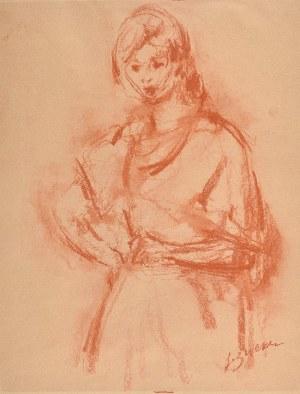 Jakub ZUCKER (1900-1981), Dziewczyna