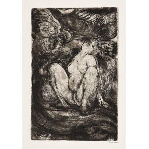 Konstanty BRANDEL (1880-1970), Érotique - Olga de Naples [Erotyk, Olga z Neapolu], 1925