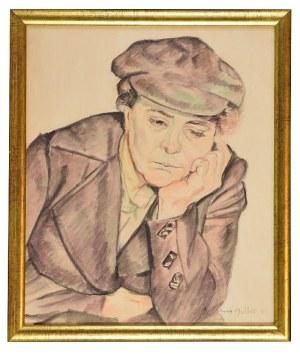 Szymon MÜLLER (1885-1942), Młody Żyd, 1920