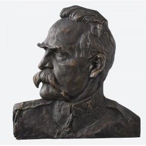 Feliks ROBAKOWSKI (ROBAK) (1896-1980), Popiersie Józefa Piłsudskiego