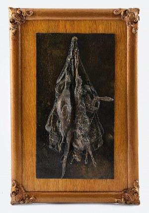 PIERRE-JULES MENE (1810-1879), Martwa kuropatwa i zając