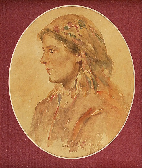 Leonard WINTEROWSKI (1886-1927), Maryna, 1903