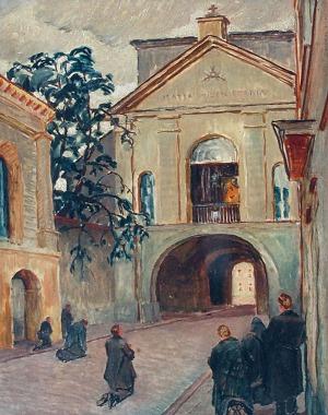 Ignacy PINKAS (1888-1935), Ostra Brama w Wilnie