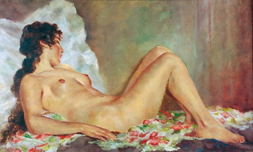Gregore MAJEWICZ (1897-1965), Akt leżący