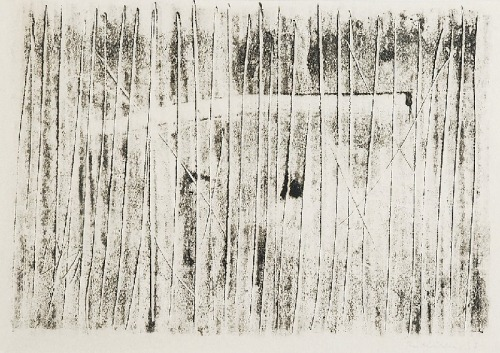 Krystyn ZIELIŃSKI (1929 - 2007), Płot, 1957