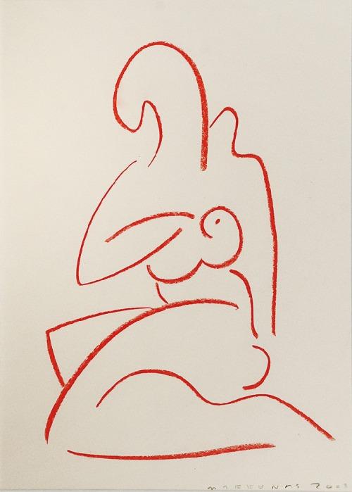 Jacek MARKUNAS (ur. 1952), Akt, 2003