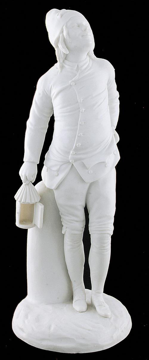 Młodzieniec (Pierrot?) z latarnią