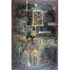Tadeusz ŁAPIŃSKI (1928-2016), Malarstwo materii, 1959