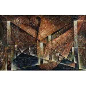 Konstanty GORBATOWSKI (1914-1984), Miasto V, 1984