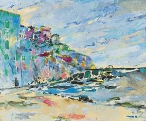 JULIUSZ JONIAK (UR. 1925), Morze w Gollioure, 1996