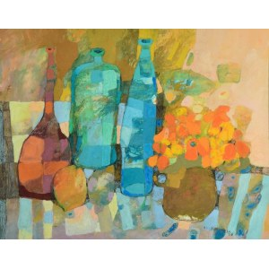 ALICJA SŁABOŃ-URBANIAK, Martwa natura, 1996