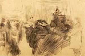 Artur Markowicz (1872-1934), Przemówienie (praca dwustronna)