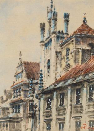 Marian PUCHALSKI, ULICA ŚWIĘTOJAŃSKA W WARSZAWIE