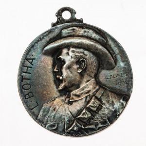 MEDAL, LOUIS BOTHA - BITWA POD COLENSO, 1902