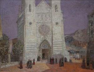 Konstanty Mackiewicz (1894-1985), Hiszpania. Przed katedrą