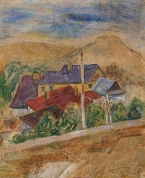 Emil Krcha (1894 Kałusz - 1972 Kraków), Krzemieniec. Góra Bony