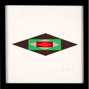 Jan Chwałczyk (1924 Krosno - 2018), Kompozycja II, 1990