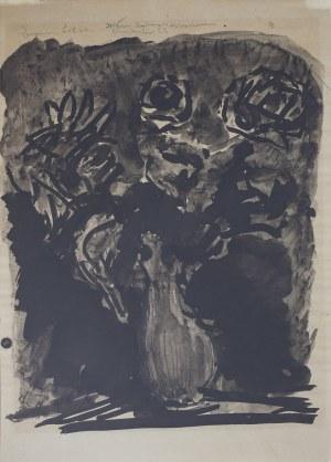 Eugeniusz EIBISCH(1895-1987), Wazon z kwiatami