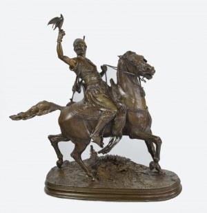 Pierre-Jules MENE (1810-1879), Sokolnik arabski na koniu