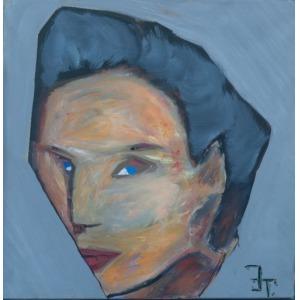 Jan Traugutt, Twarz kobiety 1, 2014