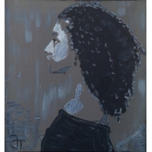 Jan Traugutt, Twarz kobiety 2, 2014