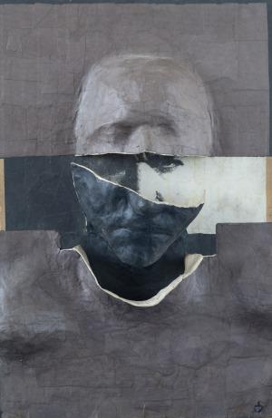 Dorota Brodowska, bez tytułu z cyklu Głowy, 2011