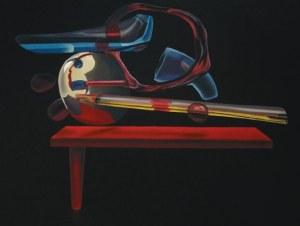 Ziemowit Fincek, Antygrawitacyjna martwa natura ze stołem, 2017r.