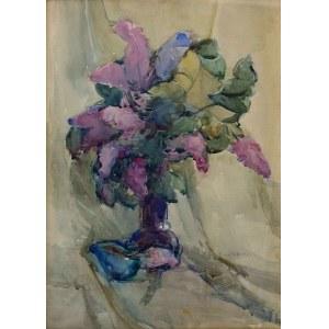 Mieczysław Wątorski (1903-1979), Kwiaty w wazonie