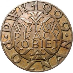 Polska, II RP, przypinka Wystawa Pracy Kobiet, Poznań 1929