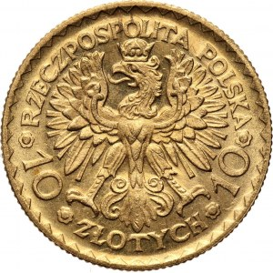 Polska, II RP, Bolesław Chrobry, 10 złotych 1925, UNC-