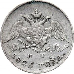Rosja, Mikołaj I, 5 kopiejek 1826 HG, Petersburg
