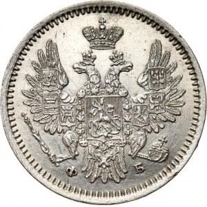 Rosja, Aleksander II, 5 kopiejek 1856 FB, Petersburg