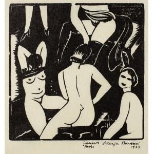 Janusz Maria Brzeski (1907-1957), La bourdele, 1929 r.