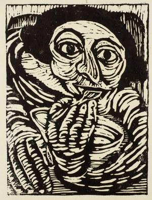 Władysław Rząb (1910 Zgierz – 1992 Łódź), Przy posiłku