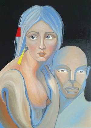 Klaudia Funkiewicz, Un homme et une femme II, 2019