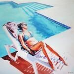 Rafał Knop, Madame Ev 01 z cyklu Swimming Pool, 2019