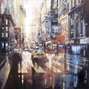 Piotr ZAWADZKI, Metropolis. NYC morning, 2019 r.