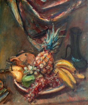 Zygmunt Menkes (1896 Lwów - 1986 Riverdale), Martwa natura z owocami, przed 1939 r.