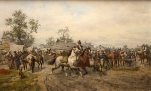 Ludwik Gędłek (Kraków 1847 - Wiedeń 1904), Targ koński