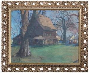 Teodor Grott (1884 Częstochowa - 1972 Kraków), Kościółek, 1909 r.